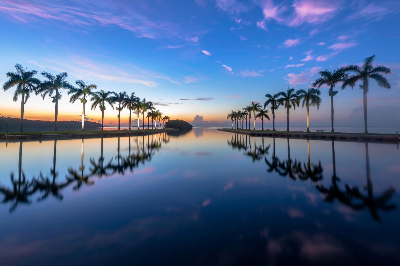 Deering Estate PreDawn Sunrise Reflection in Miami, FL