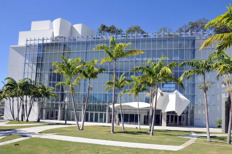 the New World Center in Miami