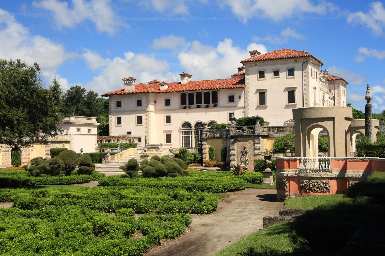 Magnificent Mansion,Vizcaya on Biscayne bay in Miami